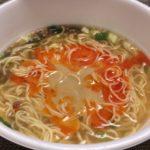 【セブンのカップ麺】ミシュラン4年連続1つ星「鳴龍」の坦々麺 実食レポ