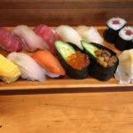 食べログ3.57 新橋SL広場前 人気の「大和鮨」でランチの握り