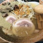 神保町「覆麺 智」原価率の高い贅沢素材!の濃厚スープで大人気