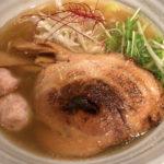 銀座人気ナンバーワン「麺処 銀笹」で和風な銀笹 塩ラーメンと鯛飯