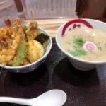 天ぷらの「ハゲ天」が始めたラーメン屋 銀座「天丼・らぁ麺ハゲ天」