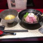 絵のように美しいつけ麺とトリュフ卵ご飯 銀座 魄瑛 (はくえい)