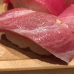 新橋「板前寿司」マグロ初競り最高額の有名店でまぐろ握りセット