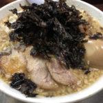 蒲田「らーめん潤」燕三条系ラーメンは背脂・岩のりが美味しい!!