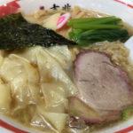 食べログ大井町1位!常に行列の人気店 白河ラーメン「麺壱 吉兆」