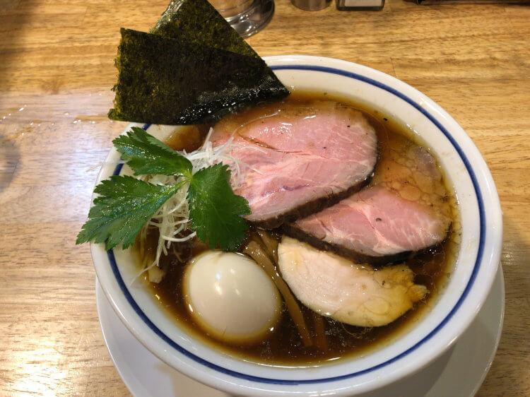 特製中華そば 醤油@ 手打式超多加水麺 ののくら 亀有