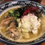 錦糸町「佐市」濃厚な牡蠣スープが絶品!の牡蠣ラーメン専門店