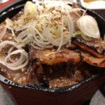 食べログ3.7超えの人気店でA5和牛の焼肉丼ランチ「正泰苑」芝大門