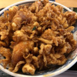 赤坂「天茂」昭和39年の創業の老舗で絶品のかき揚げ丼のランチ