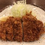 巣鴨とげぬき地蔵近くの人気店「ときわ食堂」で林SPFのとんかつ定食