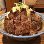 【一燈の二郎系】ステーキラーメン!が猛烈に美味い!「ラーメン燈郎」新小岩